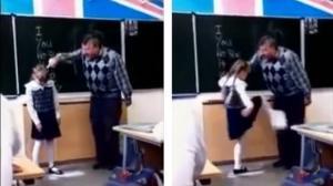 Dieser Lehrer demütigte eine junge Schülerin vor dem Rest