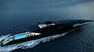 Yachten luxus  Black Swan, die Luxus-Super-Yacht, ist ein wahres Traum-Schiff