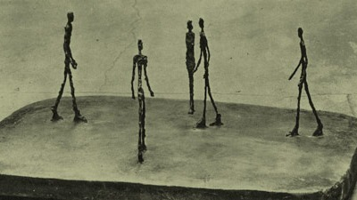 Schau dir dieses Bild von Giacometti einmal genau an. Hat es auch DIESEN besonderen Effekt auf dich?
