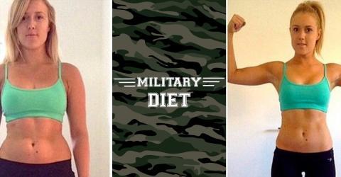 Militärsdiät: Der neueste Schrei, mit dem du ganz schnell abnehmen kannst!