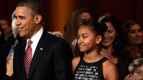 Die jüngste Tochter von Barack Obama hat sich ganz schön verwandelt!