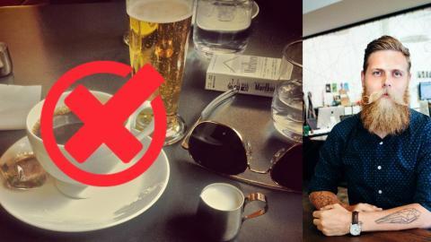 Er verzichtet 15 Monate lang auf Kaffee und Alkohol... Wie er danach aussieht, ist verblüffend!
