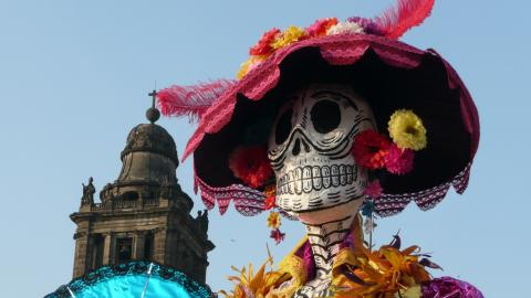 Día de los Muertos: So wird das Fest der Toten in Mexico gefeiert
