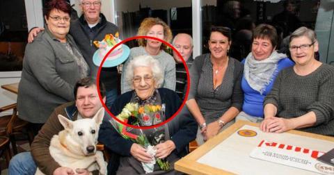 Robertine Houbrechts aus Belgien: 96 Jahre alt und jeden Tag in der Kneipe