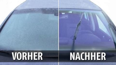 Hier ein genialer Trick, wie du beschlagene Fensterscheiben im Auto loswirst!