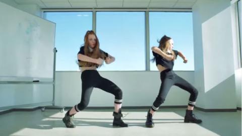 Diese jungen Tänzerinnen liefern eine unglaubliche Performance zu Beyoncé ab.