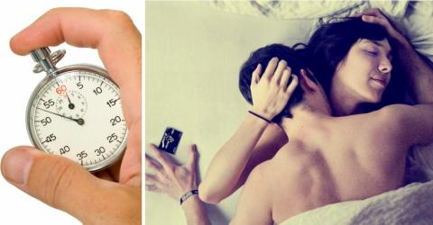 Die ideale Dauer beträgt nur wenige Minuten