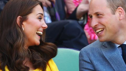 Royale Liebe: Mit dieser süßen Geste beschützt Prinz William seine Kate