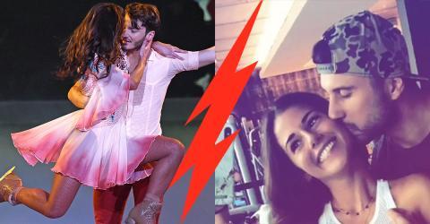"""Nach """"Dancing On Ice""""- Krise: Liebes-Aus zwischen Sarah und Roberto?"""