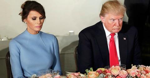 So unverschämt benimmt sich Trump an Melanias 48. Geburtstag