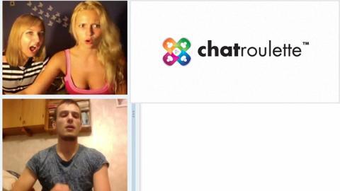 Chatroulette: Bei dem Anblick verschlägt es ihnen die Sprache!