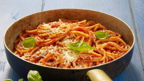Zutaten und Rezept für Nudel-Sauce: Pasta-Soße selber machen