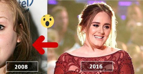 So kennen wir Adele heute. Wahnsinn, wie sich die Sängerin seit 2008 verwandelt hat!