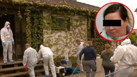 In ihrem Wohnhaus: Polizei deckt grausame Machenschaften einer deutschen Tierärztin auf