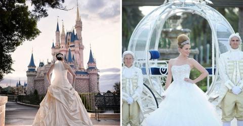 Hochzeit: Eine Traumhochzeit wie für eine Märchenprinzessin organisieren? Das ist jetzt möglich in Disneyland!