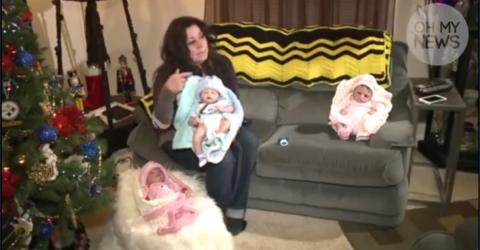 Sie verkauft Puppen bei eBay, dann steht plötzlich die Polizei vor ihrer Tür