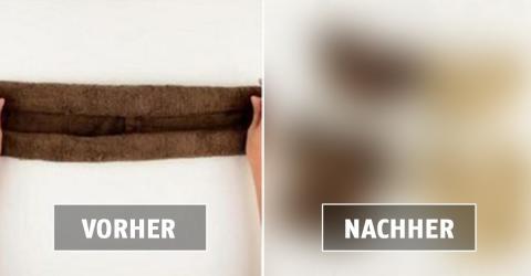 Ein niedlicher Trick! Im Handumdrehen wird aus diesem Handtuch...