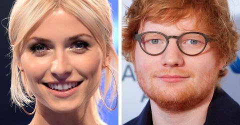 Vertrautes Foto von Topmodel Lena Gercke und Sänger Ed Sheeran aufgetaucht