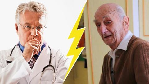 Ältester Mann Deutschlands: Ärzte entsetzt über seinen Lebensstil