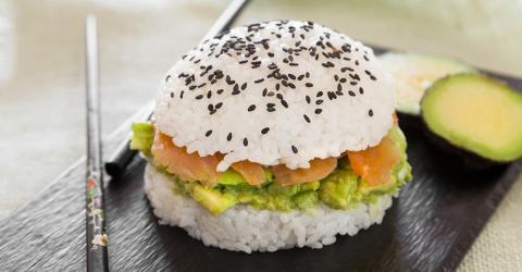 Bugshi: Wenn Sushi auf Burger trifft, wird es köstlich!