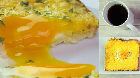 Ei-Käse-Toast: Das einfache Rezept für einen schmackhaften Toast