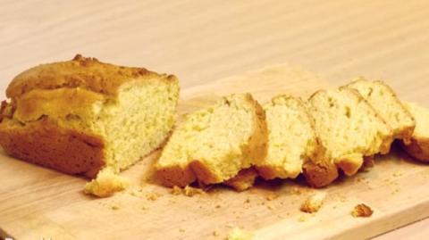 Diesen Kuchen kannst du mit nur 2 Zutaten machen. Eine originelle Idee zum Kaffee