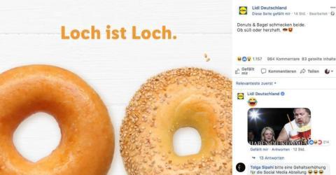 LIDL macht sich mit Bagel-Werbung unbeliebt. Der Slogan spaltet die Gemüter!