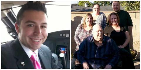 Ein Airline-Pilot drehte wieder um, um einer trauernden Familie zu helfen
