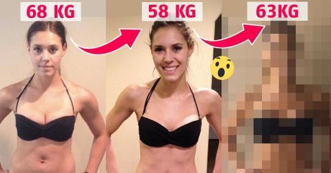 Die Fitness-Bloggerin Kelsey Wells räumt mit Gewichtsvorurteilen auf... Gewicht allein ist nicht alles!