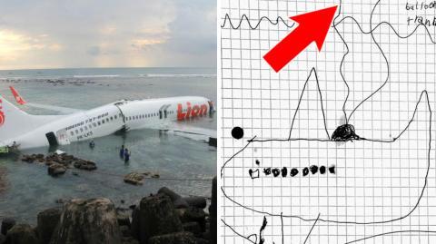 Wenn ein 8 Jahre altes Kind ein unfehlbares System erfindet, um im Ozean verschollene Flugzeuge zu orten