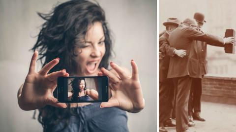 Das älteste Selfie der Welt!
