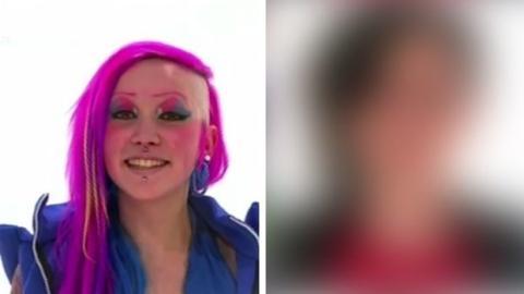Diese junge Frau mit den rosa Haaren lässt sich komplett umstylen... Ihre Verwandlung ist unglaublich!