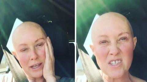 Vom Krebs gezeichnet hat Shannen Doherty eine wunderbare Message zu verbreiten!