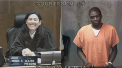 Richterin erkennt Angeklagten (noch) wieder.