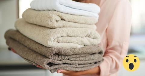 Mit diesem einfachen Trick entfernst du ekligen Schimmelgeruch aus deinen Handtüchern