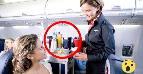 Softdrinks im Flugzeug: Deshalb wird davon abgeraten