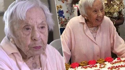 107-Jährige verrät pikantes Geheimnis zu einem langen Leben, das Männern sicher nicht gefällt