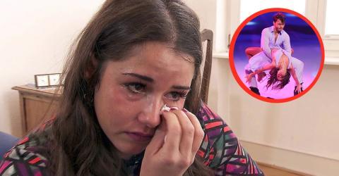 Sarah Lombardi bei Dancing on Ice: Tränenreiches Geständnis