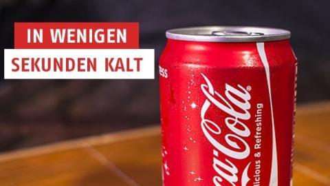 Frische Getränke in nur wenigen Sekunden... Eine geniale Idee!