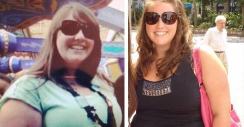 Nach einem unglaublichen Gewichtsverlust wurde sie zur Fitness-Bloggerin