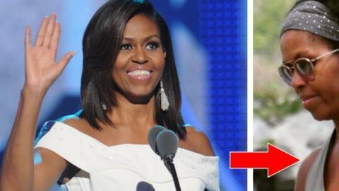 Michelle Obama: Die ehemalige First Lady zeigt ihren natürlichen Haare zum ersten Mal!