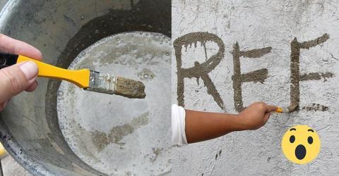 Moosgraffiti, die einzigartige Wanddekoration