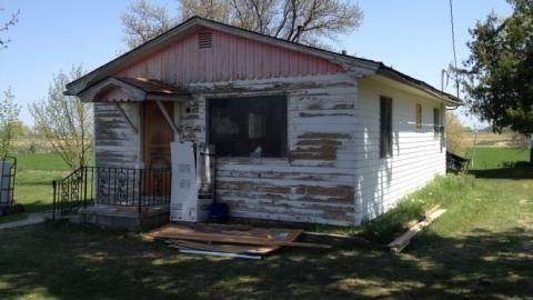 Die unglaubliche Verwandlung eines alten verwahrlosten Hauses
