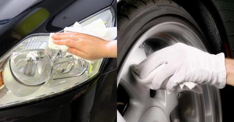 Auto putzen mit Zwiebel, Kaffee, Rasierschaum und Zahnpasta