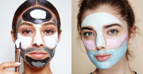 Multimasking: Verschiedenen Gesichtszonen gleichzeitig behandeln