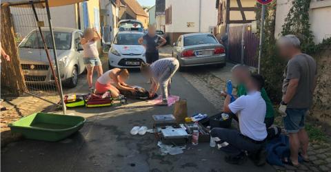 Hitze-Drama in Rheinhessen an sommerlichen Wochenende