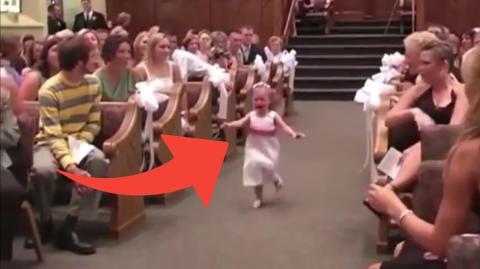 Kinder, die Hochzeiten ruinieren