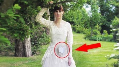 Dieses Hochzeitskleid verbirgt eine wundervolle Überraschung!