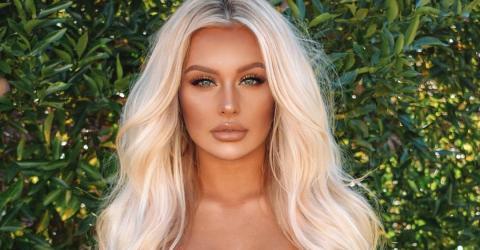 Krasse Verwandlung: Diese Super-Blondine sah mal ganz anders aus!