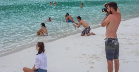 Finde den Fehler: Etwas stimmt nicht mit dem Urlaubsbild!